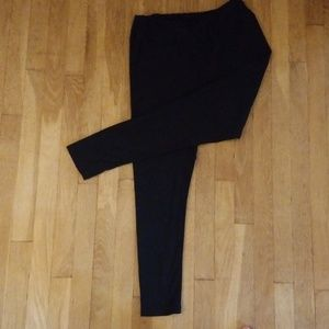 Lula Roe, Black leggings - tall & curvy
